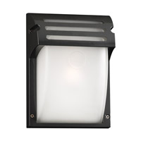 PLC Lighting Moser Outdoor Wall Sconce in Bronze with Frost Glass 3607-BZ