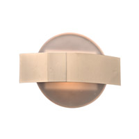 PLC Lighting Darius 1 Light Wall Sconce in Polished Chrome 36670PC