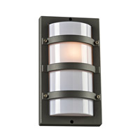PLC Lighting Spa 1 Light Outdoor Wall Light in Bronze 4040BZ