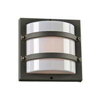 Spa 1 Light 10 inch Bronze Outdoor Wall Light in Incandescent