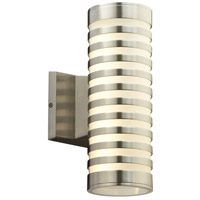 Decker LED 12 inch Bronze Aluminium Outdoor Wall Sconce