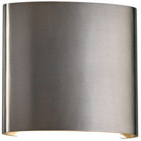 Leena LED 7 inch Brushed Aluminum Outdoor Wall Light