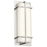 Brooklan LED 6 inch Polished Chrome ADA Wall Sconce Wall Light