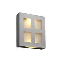 PLC Lighting Gayle 2 Light Wall Sconce in Aluminum 6416-AL