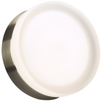 Metz LED 6 inch Satin Nickel ADA Wall Light