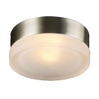 PLC Lighting 6571-SN Metz 1 Light 6 inch Satin Nickel ADA Wall or Ceiling Convertible Wall Light
