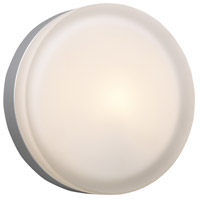 PLC Lighting 6572SNLED Metz LED 9 inch Satin Nickel ADA Wall Light