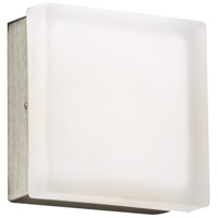 Praha LED 5 inch Satin Nickel ADA Wall Light