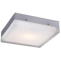 PLC Lighting 6574SNLED Praha LED 9 inch Satin Nickel ADA Wall Light