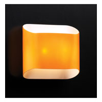PLC Lighting Jackson Sconce with Amber Glass 67015-AMBER
