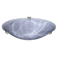 Nuova LED 12 inch Natural Iron Flush Mount Ceiling Light