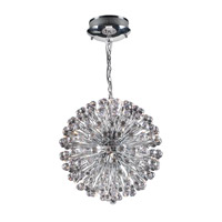 PLC Lighting Aspasia Chandelier in Polished Chrome with Crystal 72175-PC