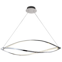 Orion LED 43 inch Polished Chrome Pendant Ceiling Light