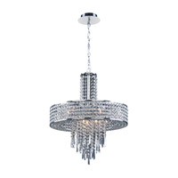 PLC Lighting Astina 9 Light Ceiling Light in Polished Chrome 73074PC