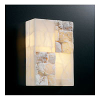 PLC Lighting Candice 2 Light Wall Sconce in Natural Alabaster 7314