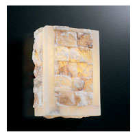 PLC Lighting Sidney Sconce with Natural Alabaster Glass 7318/CFL
