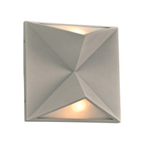 PLC Lighting Chyna 2 Light Wall Sconce in Silver 7548SL