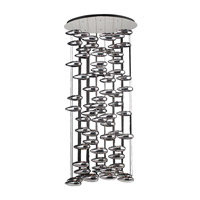 PLC Lighting Aquarium 80 Light Chandelier in Polished Chrome 76767-PC