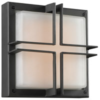 PLC Lighting 8026BZLED Piccolo LED 10 inch Bronze Outdoor Wall Light
