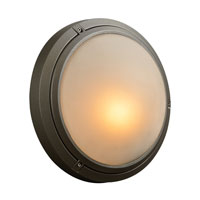 PLC Lighting Ricci I 1 Light Outdoor Wall Sconce in Bronze 8037-BZ