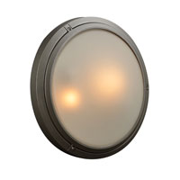 PLC Lighting Ricci II 2 Light Outdoor Wall Sconce in Bronze 8039-BZ