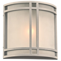 Summa LED 10 inch Silver Outdoor Wall Light