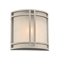 PLC Lighting 8045SL Summa 1 Light 10 inch Silver Outdoor Wall Light in Incandescent