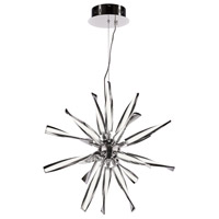 Vitrea LED 24 inch Polished Chrome Pendant Ceiling Light, Small