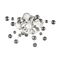 Circus 8 Light 36 inch Polished Chrome Flush Mount Ceiling Light