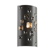 Twilight 1 Light 6 inch Black Wall Sconce Wall Light