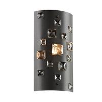 PLC Lighting 81390BK Twilight 1 Light 6 inch Black Wall Sconce Wall Light