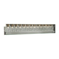 PLC Lighting Lief 27 Light Vanity Light in Polished Chrome 81644-PC