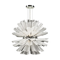 PLC Lighting Enigma 12 Light Chandelier in Polished Chrome 82336-PC