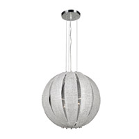 PLC Lighting Bijoux 8 Light Chandelier in Polished Chrome 82344-PC