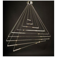 PLC Lighting DNA II 18 Light Chandelier in Polished Chrome 83104-PC photo thumbnail