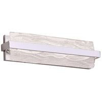 Chartuex LED 18 inch Polished Chrome Vanity Light Wall Light, Small