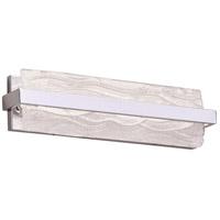 PLC Lighting 84402PC Chartuex LED 18 inch Polished Chrome Vanity Light Wall Light Small