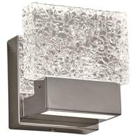 PLC Lighting 84411PC Ombrelle LED 5 inch Polished Chrome Vanity Light Wall Light