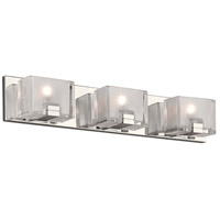 PLC Lighting 84423PC Filigre LED 24 inch Polished Chrome Vanity Light Wall Light