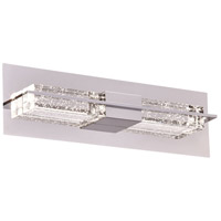 PLC Lighting 84431PC Amano LED 18 inch Polished Chrome Vanity Light Wall Light Small