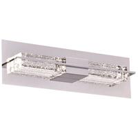 PLC Lighting 84431PC Amano LED 18 inch Polished Chrome Vanity Light Wall Light Small
