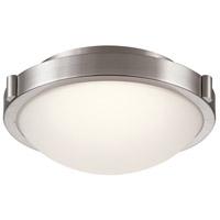 PLC Lighting 84451SN Corso LED 13 inch Satin Nickel Flush Mount Ceiling Light Medium