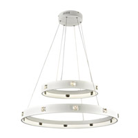 PLC Lighting Lumium Pendant in White 87828WH