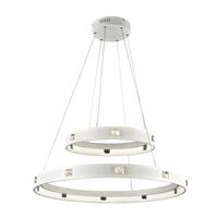 PLC Lighting 87828WH Lumium LED 30 inch White Pendant Ceiling Light