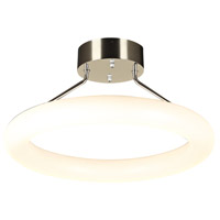 Anila LED 19 inch Polished Chrome Semi-Flush Mount Ceiling Light