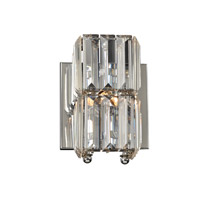 PLC Lighting Marquee 1 Light Wall Sconce in Polished Chrome 90002PC