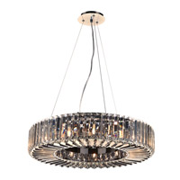 Marquee 12 Light 24 inch Polished Chrome Pendant Ceiling Light
