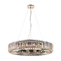 PLC Lighting Marquee 16 Light Pendant in Polished Chrome 90045PC