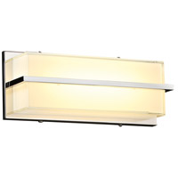 PLC Lighting 90050PC Tazza LED 12 inch Polished Chrome ADA Wall Sconce Wall Light