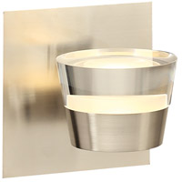 Sitra LED 5 inch Satin Nickel Vanity Wall Light